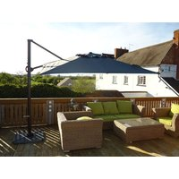 Product photograph showing Junior Roma 2 75m Square Cantilever Parasol Weather Cover - Ex Display