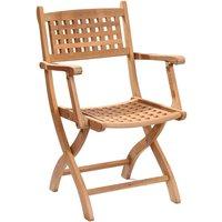 Product photograph showing Kensington Folding Armchair