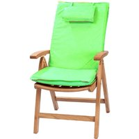 Product photograph showing Recliner Outdoor Cushion - Lime Green
