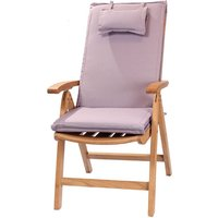 Product photograph showing Recliner Outdoor Cushion - Lilac