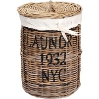 Product photograph showing Kubu Round Laundry Basket