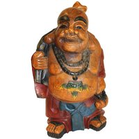Product photograph showing Buddha Garden Ornament - Laughing Buddha