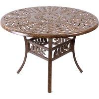 Leaf 106cm dia table