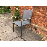 Product photograph showing Marbella Stacking Armchair
