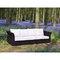 Product photograph showing Midnight Montana 4 Seater Sofa