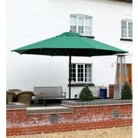Product photograph showing Milano Commercial Parasol 4m Dia - Damaged Boxes