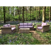 Product photograph showing Montana Sofa Suite - Outdoor