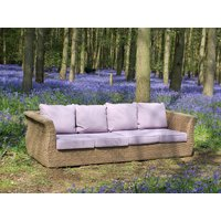 Product photograph showing Montana 4 Seater Sofa - Outdoor