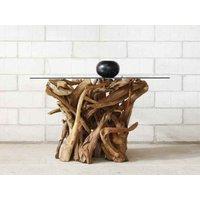 Naga Reclaimed Teak Root Round Dining Table
