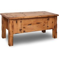 Rustic Oak Chest and Bench