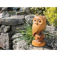 Product photograph showing Owl Ornament - Large