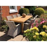 Regent 8 Chair Dining Set   FSC® Certified