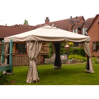 Product photograph showing Riviera Gazebo 4m X 3m - Ex Display