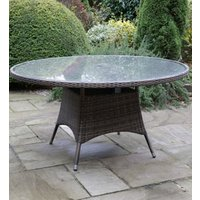 Product photograph showing Rattan Melbourne 1200 Table