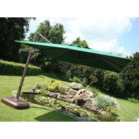 Product photograph showing Cantilever Parasol - Roma 3m Square - Ex Display