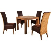 Savana 4 Chair Dining Set
