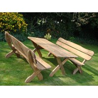 Product photograph showing Sherwood Picnic Bench Set Fsc Certified