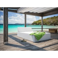 Product photograph showing Silvertex Double Sun Lounger