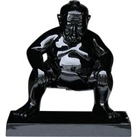 Product photograph showing Sumo Garden Ornament - Black