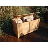 1.2m Teak Cushion Box