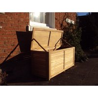 1.5m Teak Cushion Box