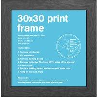 30x30cm Flat Black MDF Frame