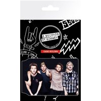 5 Seconds of Summer Band Card Holder - 5 Seconds Of Summer Gifts