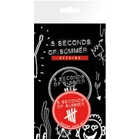 5 Seconds of Summer Derping Keyring - 5 Seconds Of Summer Gifts