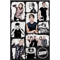 5 Seconds Of Summer Grid Maxi Poster - 5 Seconds Of Summer Gifts