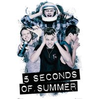 5 Seconds Of Summer Headache Maxi Poster - 5 Seconds Of Summer Gifts