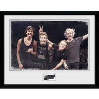 5 Seconds of Summer Live Pose Framed Collector Print - 5 Seconds Of Summer Gifts
