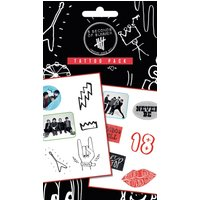5 Seconds of Summer Mix Tattoo Pack - 5 Seconds Of Summer Gifts