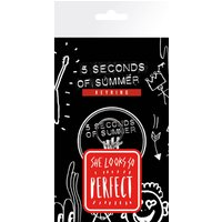 5 Seconds of Summer Perfect Keyring - 5 Seconds Of Summer Gifts