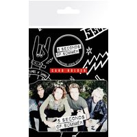 5 Seconds of Summer Sit Card Holder - 5 Seconds Of Summer Gifts