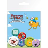 Adventure Time Finn Badge Pack - Adventure Time Gifts