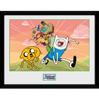 Adventure Time Finn & Jake Framed Collector Print - Adventure Time Gifts