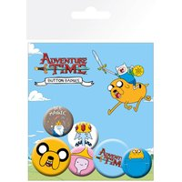 Adventure Time Jake Badge Pack - Adventure Time Gifts