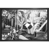 Ariana Grande Bike Framed Maxi Poster