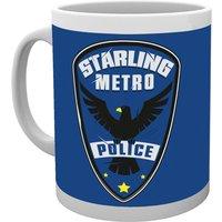 Arrow Police Mug - Police Gifts