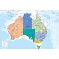 Australia Map Maxi Poster - Australia Gifts