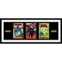 Batman Comic 3 Comics Framed Collector Print