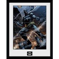 Batman Comic Rope Framed Collector Print