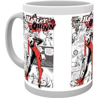 Batman Comics Harley Quinn Comic Mug