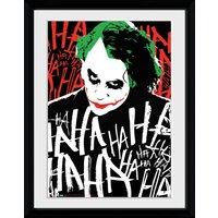 Batman The Dark Knight Rises Joker Ha Framed Collector Print - Batman Gifts