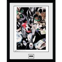 Batman Villians Collector Print