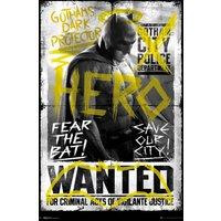 Batman Vs Superman Batman Wanted Maxi Poster