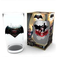 Batman Vs Superman Logo Pint Glass - Batman Gifts