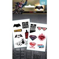 Batman Vs Superman Mix Tattoo Pack - Batman Gifts