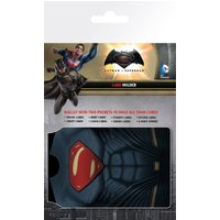 Batman Vs Superman Outfits Travel Pass Card Holder - Superman Gifts