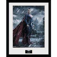 Batman Vs Superman Superman Framed Collector Print - Batman Gifts